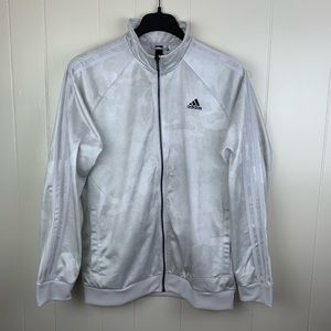 Adidas White Ghost Camo Track Jacket